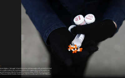 Coronavirus prompts Canada to roll out safe drugs for street users